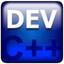 Orwell Dev-C++ logo