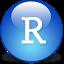 R.Studio logo