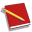Red Notebook logo
