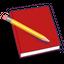 Red Notebook logo